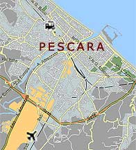 brevetto paracadutismo pescara italy map - photo#41